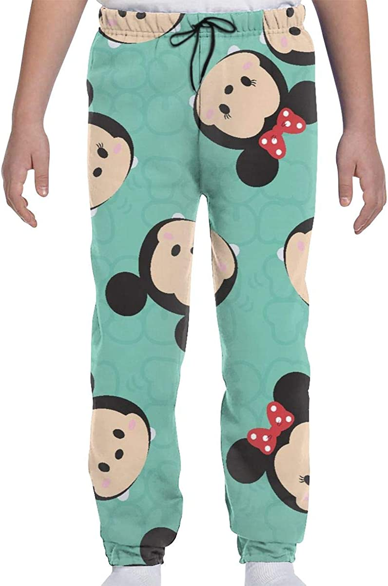 Sizes Youth S-XL Mickey Mouse Soft and Sports Joggers Pants Trousers Sweatpants LCXjj Youth Sweatpants