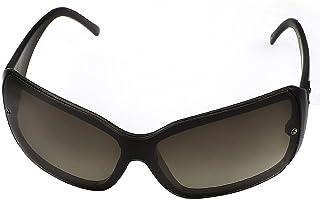 uxcell サングラス ファッション小物 フルフレーム シングルブリッジ フルリム ブラウン 4.8cmレンズの幅