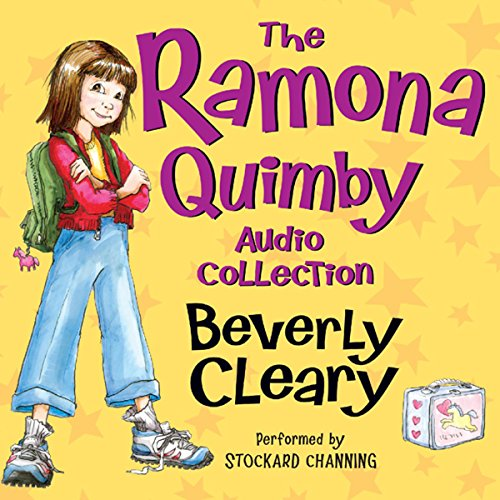 The Ramona Quimby Audio Collection                   By:                                                                                                                                 Beverly Cleary,                                                                                        Tracy Dockray                               Narrated by:                                                                                                                                 Stockard Channing                      Length: 18 hrs and 56 mins     2,030 ratings     Overall 4.7