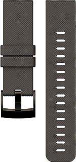Suunto Traverse Horlogebandje, uniseks, volwassenen, zwart (grafiet), eenheidsmaat