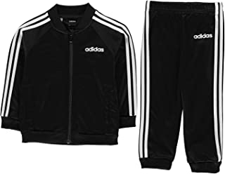 adidas Baby Kids Boys Sports Tracksuit Jogger Poly Long