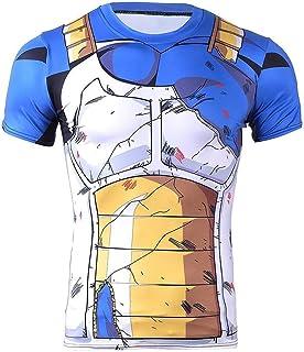 28c2d0da2 Detroital Unisex Dragon Ball Z Goku T-Shirt 3D Graphic Printed Anime Short Sleeve  Tee