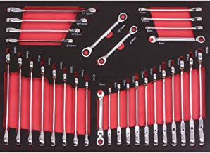 Egamaster Bolsa para juego 12 llaves combinadas
