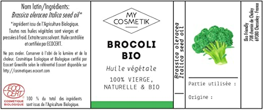 Aceite vegetal de Brócoli orgánico Cosméticos - MyCosmetik - 10 ml