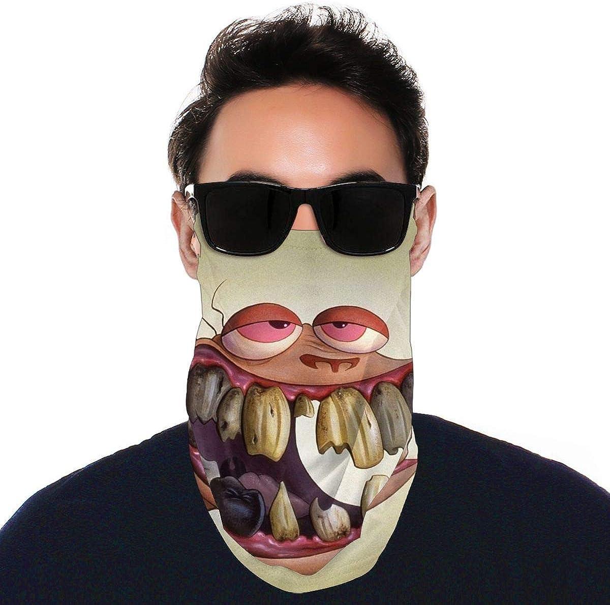 SIPONE Washable Men's & Women's Team Fortress Reusable Multiuse Bandanas Neck Gaiter Print Mask