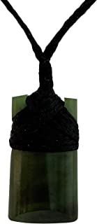 Greenstone Pounamu Toki - Ciondolo per collana della Nuova Zelanda, misura piccola