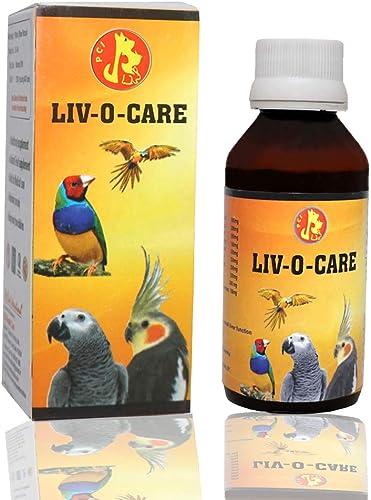 Pet Care International (PCI) Liv-O-Care to Help Detoxify Liver System for Healthy Bird Healthcare (100ml)