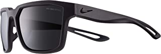 Nike Unisex Square Grey Plastic Sunglasses - NKFLEET 009 55-16-135mm