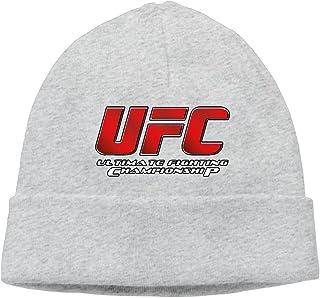 0ba0605bc163e3 Unisex Adults UFC Ultimate Fighting Championship Logo Winter Cool Beanies  Hats