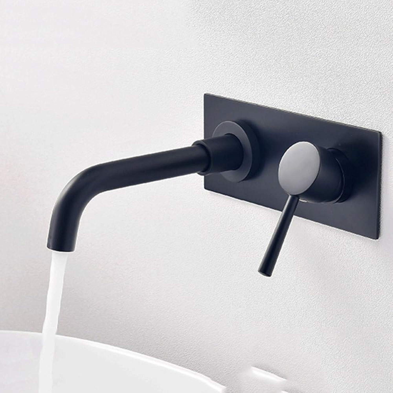 Waschtischarmatur Wandmontierte Schwarzes Becken Wasserhahn Becken Chrom Mischbatterien Bad Mischer Dusche Wasserhhne Bad Wasserhahn