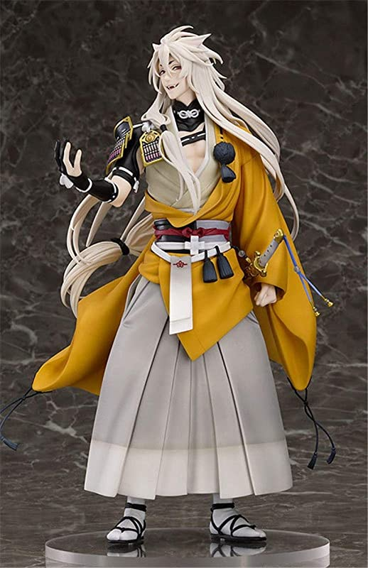 Modern Modern Anime Figure Touken Ranbu Online Kogitsunemaru Fox Ball 1 8 Scale PVC Action Figure Collectible Model Toy