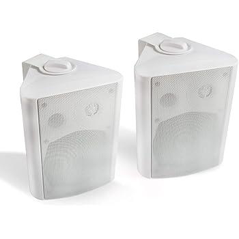 Herdio 5.25 Inches 200 Watts Indoor Outdoor Patio Bluetooth Speakers with