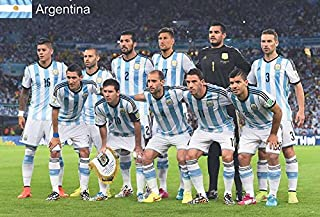Maxis Argentina Football Soccer Team FIFA World Cup 2014 Wall Decoration Poster