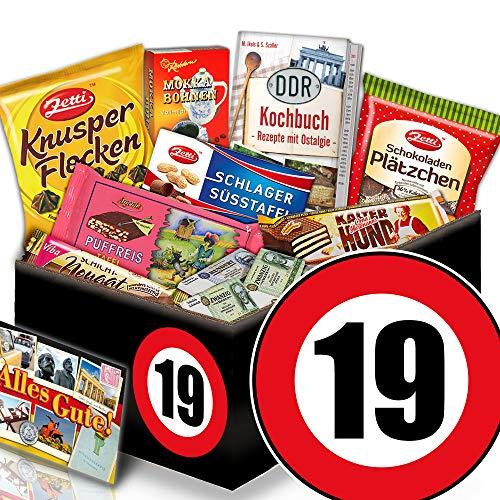 Geschenke 19. Geburtstag - Ostpaket Schoko - Geschenk zum 19 Geburtstag Mann