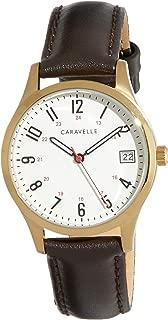 CARAVELLE Women's 44M112 Analog Quartz Brown Watch
