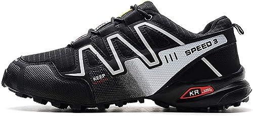 DSFGHE Chaussures De Randonnée Randonnée pour Hommes Chaussures De Course Chaussures De Randonnée Légères Antidérapantes  le meilleur service après-vente