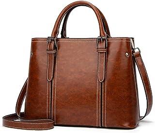 BUKESIYI Damen Tasche Umhängetasche Handtasche Frauen Klein Schultertasche Weekender Lack PU Leder CCDE77140