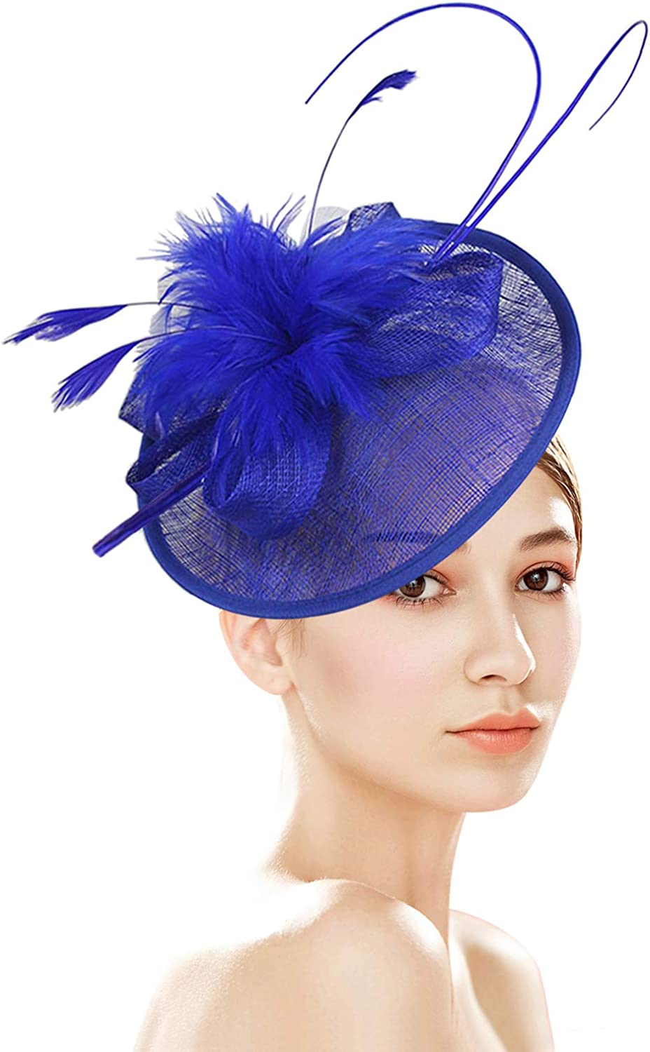 ZX Sinamay Fascinator Hats In stock for 67% OFF of fixed price Hat Women Church Derby Kentucky
