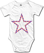 Qilrocm Iran Flag Fingerprint Baby Toddler Girl Boy Sleeveless Romper Bodysuit Jumpsuit Outfit Clothes