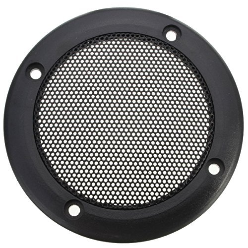 "YEHAM 2 PCS 4.2"" Speaker Decorative Circle SubWoofer Grill Cover Guard Protector Mesh"