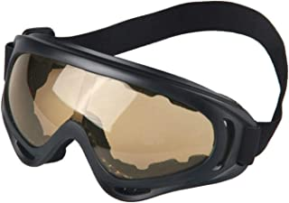 Aooaz Riding Glasses Outdoor Sports Goggles Motorcycle Goggles Ski Goggles Anti Impact Tactical Glasses