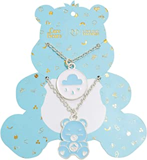 Love and Madness Care Bears Grumpy Bear Double Layer Necklace Set
