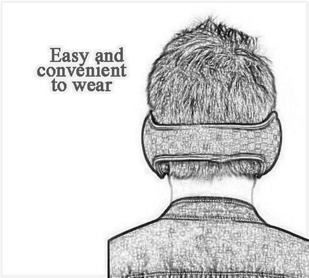 ZYXLN-Earmuffs,Men and Women Children Warm Earmuffs Multi-Angle Foldable Carrying More Convenient Earmuffs Winter Outdoor Earmuffs (Color : Whit)