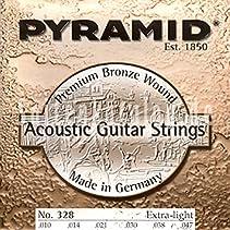 """Pyramid Acoustic Guitar """"Premium Bronze"""" XL"""