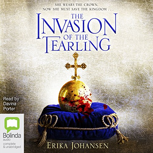 The Invasion of the Tearling     The Queen of the Tearling, Book 2              By:                                                                                                                                 Erika Johansen                               Narrated by:                                                                                                                                 Davina Porter                      Length: 18 hrs and 4 mins     40 ratings     Overall 4.6