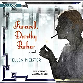 Farewell, Dorothy Parker audiobook cover art