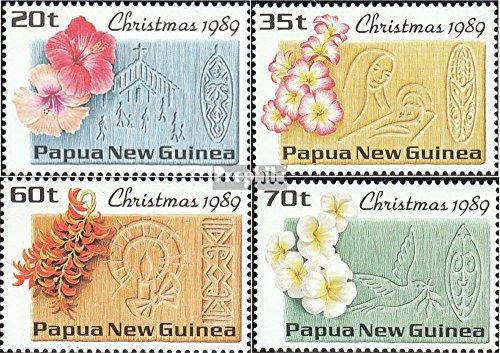 Prophila Collection Papua-Neuguinea 606-609 (kompl.Ausg.) 1989 Weihnachten (Briefmarken für Sammler) Pflanzen