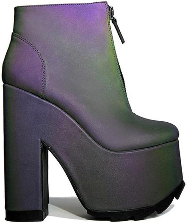 Y.R.U. YRU Nightmare shoes in Reflective