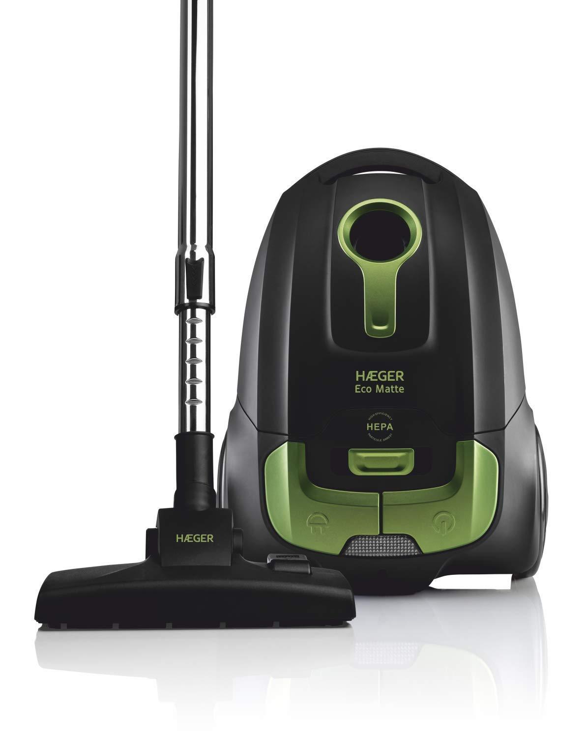 HAEGER Eco Matte - Aspirador con Bolsa, 700W, 4L, Filtro HEPA: Amazon.es: Hogar