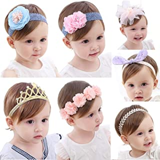 Best flower hair band for baby Reviews