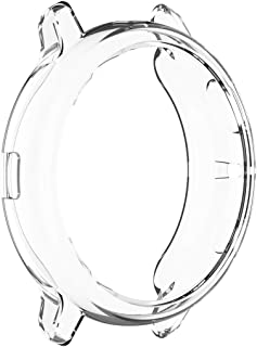 For Samsung Galaxy Watch active 2 44MM Case Soft TPU Crystal Clear Guard Frame Shockproof Scratch Resistant Cover Bumper P...