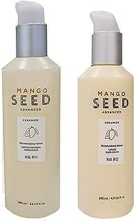The Face Shop Mango Seed Advanced Ceramide MOISTURIZING TONER & LOTION SET 160ml/145ml for Dry Skin