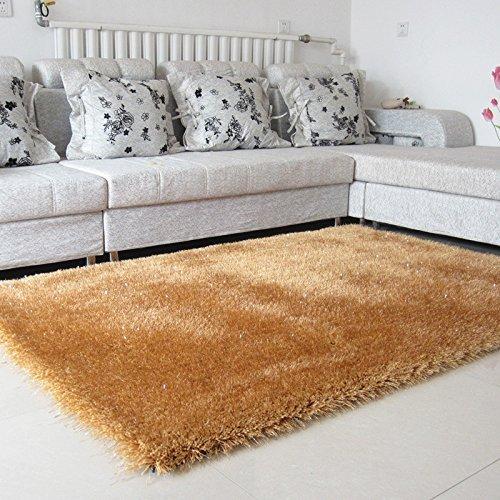 WYJW Ispessimento Europeo Stile tappeti di Seta Stretch Soggiorno tavolino Tappeto Camera da Letto Comodino Coperta Camera di Nozze Tappeto Confortevole (Colore: # 8, Dimensioni: 1.4 * 2.0)