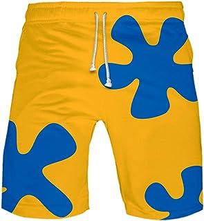 Madnlg 3D Printed Anime Patrick Star Board Shorts Kids Summer Quick Dry Beach Swimming Shorts Men Harajuku Short Pants
