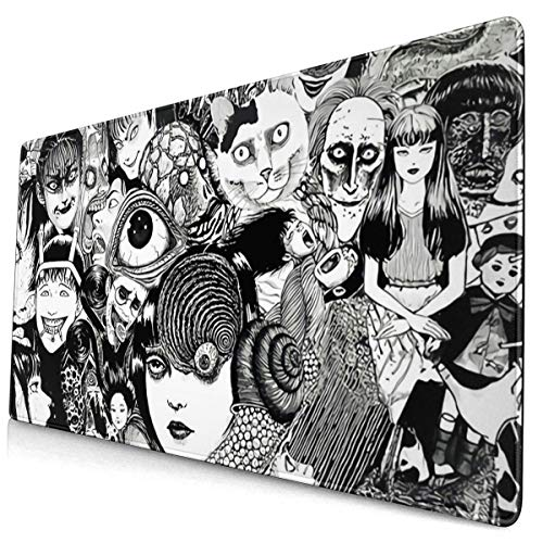 Large-Scale Junji Ito Horror Comics Cartoon Anime Laptop Gaming Mouse pad Office Desk mat 40×75cm