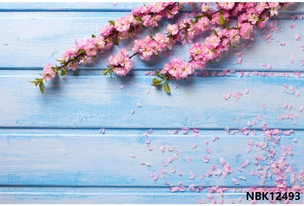 Christmas Wooden Board Flower 5 Super sale period limited popular Wall V Background Photography Baby