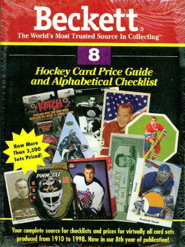 Beckett Hockey Card Price Guide & Alphabetical Checklist (Beckett Hockey Card Price Guide, No 8)