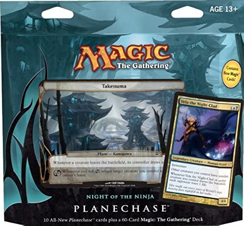 barato Magic the Gathering- Gathering- Gathering- MTG  Planechase (2012 Edition) Night of the Ninja - Game Pack by GTS Distribution  gran selección y entrega rápida
