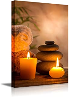 wall26 - Spa Still Life with Aromatic Candles - Canvas Art Wall Decor - 12