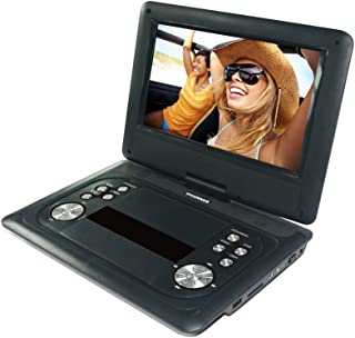 Sylvania 12-Inch Swivel Screen Portable DVD Player with USB and SD/MMC for Digital Files (Renewed)