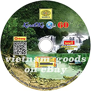 Arirang Karaoke Vision Midi Disc Vol 60 Serial E Vietnamese English For Arirang Player AR 909 / AR 909 A / AR 909 SD / AR 909 S / AR 36