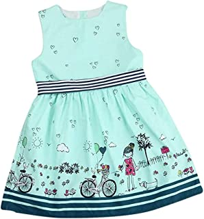 Modern Girls Dress,Toddler Kids Baby Dress Girls Pink Sleeveless Party Princess Pageant Dresses Cute Print Dress Baby Girl...