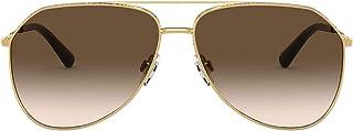 Dolce & Gabbana DG2244 Gold/Brown Gradient One Size