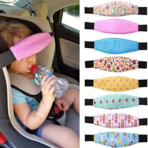 Schlafsack, Head Support, Baby Infant Kleinkind Hals Relief Auto Sicherheit Sitz Kinderwagen Buggy Sleep Positionierer, zuf?llige Muster