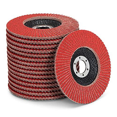 Discos de cerámica de alto rendimiento, 10 unidades, diámetro de 125 mm,...