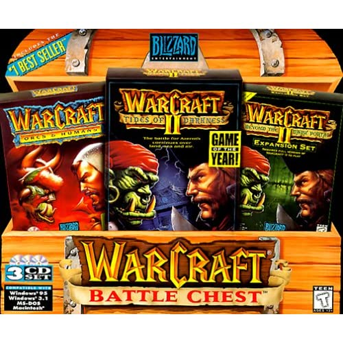 Amazon Com Warcraft Battle Chest Orcs Humans Tides Of Darkness Beyond The Dark Portal Video Games